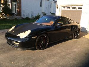 2001 Porsche 911 twin turbo Coupe (2 door)