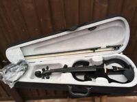Electric silent violin, Vgc