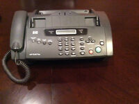 HP 1040 fax machine with handset