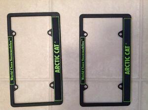 Arctic Cat License Plate Frames