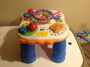 Fisher price learning table new condition