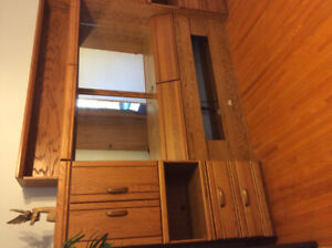 Double/queen bed wall unit