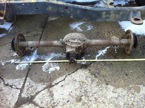 "Ford 9 inch. 31 spline. with axles and pumpkin  61"" wms to wms"