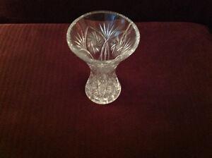 Pinwheel crystal vases