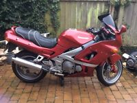 For sale. Spares or repair. ZZR600E 2001