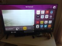 "Techwood 65"" smart tv"