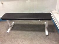 York Pro weight lifting flat bench press