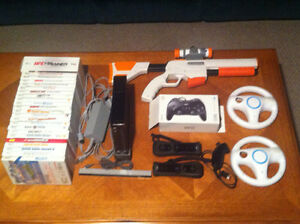 Nintendo Wii Console/23 Games/Accessories