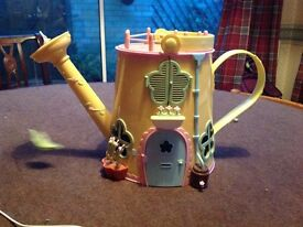 Fifi Flower Pot Watering can House and Characters