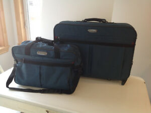 American Tourister Suitcase on wheels and Carry-on 2 pc Set