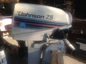 Johnson seahorse 7.5hp