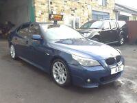 BMW 5 Series 2.5 525d Sport 4dr F.S.H+12 MONTHS M.O.T!!