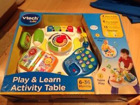 Play and learn activity table vtech
