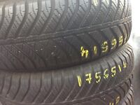 TYRE SHOP 175/70/14 165/70/14 185/60/14 195/60/14 165/65/14 used partworn TYRES Runflat stocked