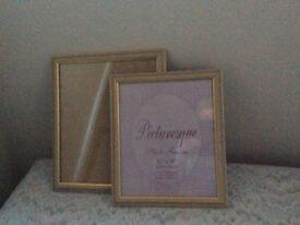 Photo frames x 2