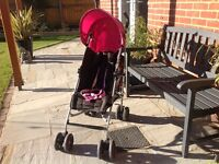 Mamas & Papas Swirl Pushchair Buggy - great condition - £20