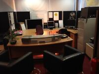 Fully equipped office closing down everything must go