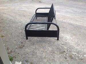 Great for Extra Guests at Cottage – Metal Futon Full Sized Frame