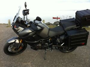 2013 Yamaha Super Tenere with New Pannier Cases