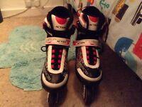 Roller skates (red)