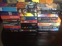 Job lot of Clive cussler books