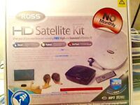 Ross HD Satellite Kit. Boxed and unused. Free satellite programmes !! NOW FURTHER REDUCED...