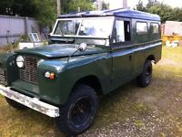 Land Rover series 2A long wheel base 1961 lots of money spent new clutch