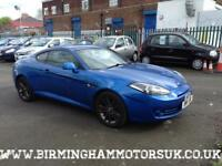 2007 (07 Reg) Hyundai Coupe 1.6i SIII 3DR Coupe BLUE + LOW MILES