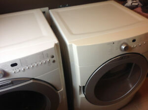 Washer and Gas Dryer combo