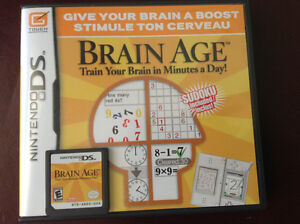 Nintendo DS Brain Age game
