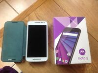 Motorola Moto G 3rd Gen White 8GB UNLOCKED