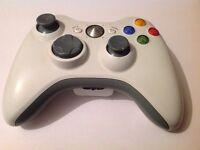Wireless Xbox 360 Controller-White