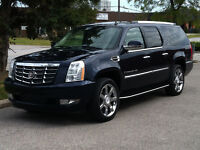 "2007 CADILLAC ESCALADE ESV AWD - 7 PASS|NAV\DUAL DVD|22"" WHEELS"