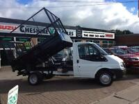 2013 13 FORD TRANSIT 2.2 350 DRW CAGE TIPPER SAME DAY VAN FINANCE OPEN 7 DAYS D