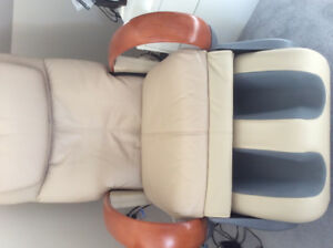 LEATHER MASSAGE CHAIR MEDICAL QUALITY