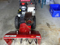 Craftsman Snowblower Great Condition
