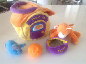 Kitty Cottage Adorable Baby/Toddler Playsets