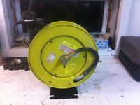 3/8 air hose reel with 25 foot hose made by ITC