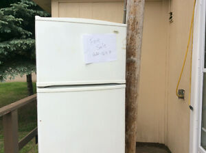 Ingles fridge and Frigidaire smooth top stove