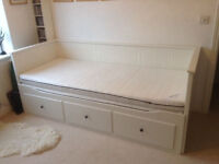 Ikea Hemnes day bed plus two mattresses - Excellent condition