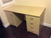 "IKEA desk perfect for student 51"" X 24"" desktop, 28"" high"