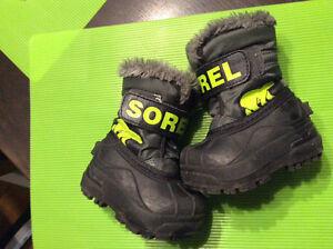 Sorel toddler winter boots Kitchener / Waterloo Kitchener Area image 1