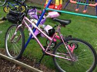 "Girls 26""inch bike"