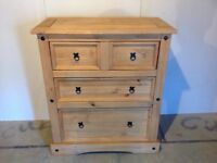 Mexican Pine Chest of Draws