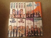 Free to Collector - Ally McBeal series 1 - 4 VHS videos Box Sets