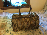 Gorgeous Tapestry  Travel Bag with shoulder strap $10.00