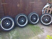 """Dotz 18"""" alloy wheels"""