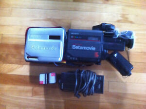 Sony Betamovie vintage video camera