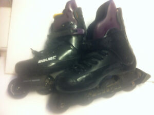 ROLLER BLADES BAUER EXCELLENT CONDITION shipping incl