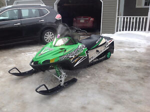 TRADE  for ?????     2010 CROSSFIRE 800 HO WITH 141 TRACK
